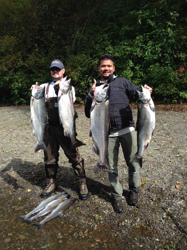 Washington State Fishing Guides - Satsop