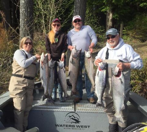 Spring King Salmon Adventures!