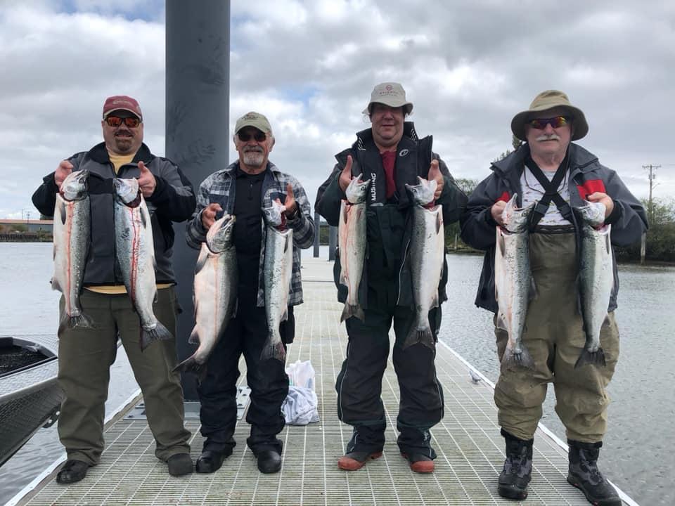 Salmon: Wynoochee, Satsop, Chehalis or Queets