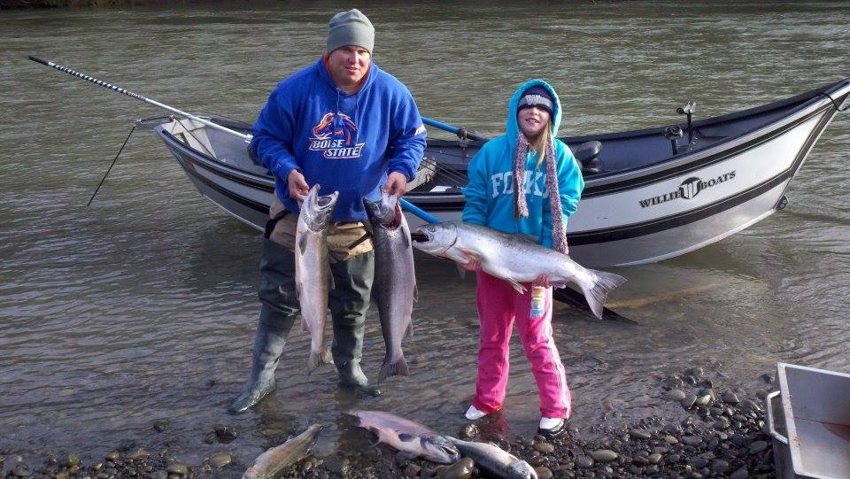 Satsop River Fall Salmon