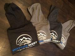 Waters West Logo Hoodies - Free Shipping!