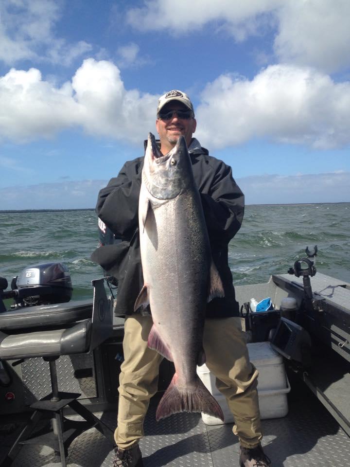 Buoy 10 King Salmon at Astoria
