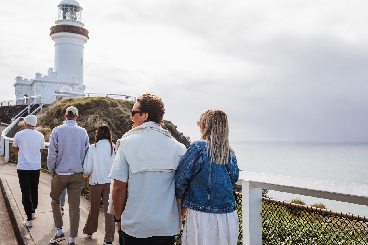 Scheduled Tour - The Farm, Lighthouse, Food & Drink (Byron Bay)
