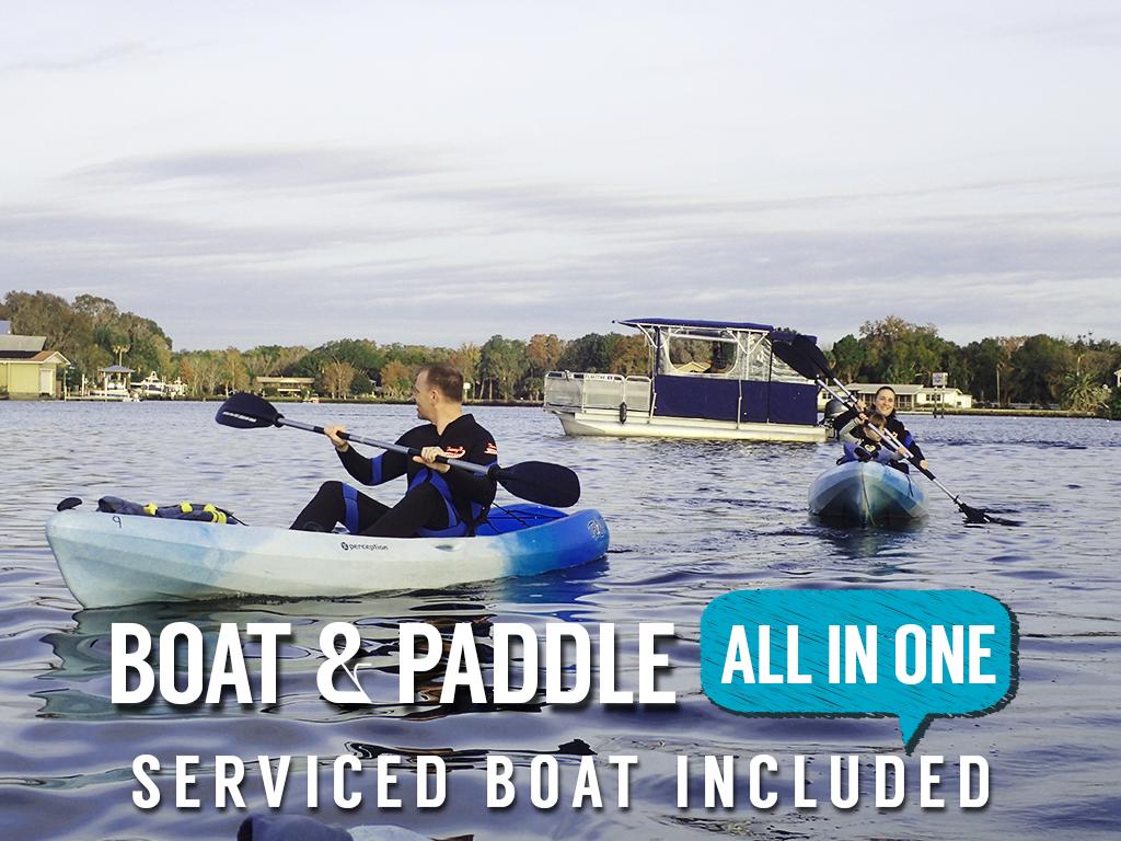 Gift Certificate - Manatee Swim & Paddle Tour - The Manatee Paddle