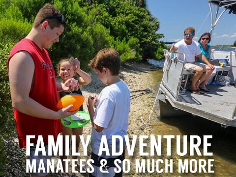 Manatees and More - Family Fun Day Tour (5 hr) - Crystal River