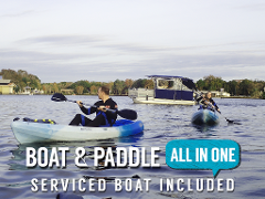 FLASH SALE!!!!! Manatee Swim & Paddle Tour - The Manatee Paddle