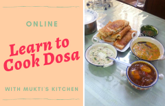 Virtual- Learn how to make Dosa