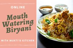 Virtual- Learn mouth Watering Biryani in One Class