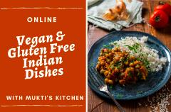 Virtual- Vegan Gluten-Free Indian Dishes