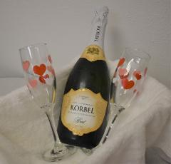 Champagne Service for up to 3 people