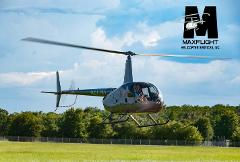 Robinson Helicopter Introductory Flight Lessons R44 Lesson + 2 Passengers - 20 minutes