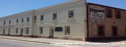 Cornucopia Hotel Paranormal Lockin