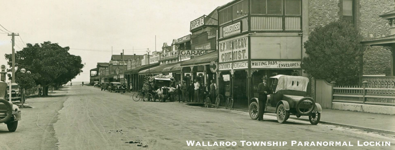 Wallaroo Township Paranormal Lockin