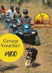 GROUP Quad Tour Voucher 1 (For 4 adults)