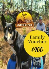 FAMILY (2 adults plus upto 3 kids) (1 child free) Quad Tour Voucher 2