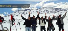 Snow Hike / Raquetas / Snowshoeing 6K  in Cajón del Maipo from Santiago