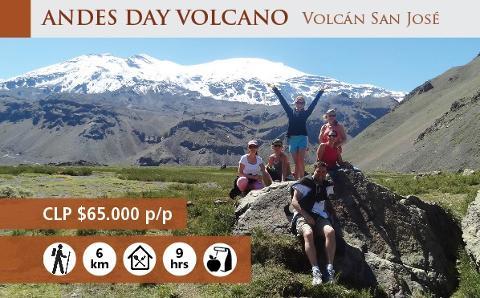 Andes Day Volcano 6K - Cajón del Maipo from Santiago