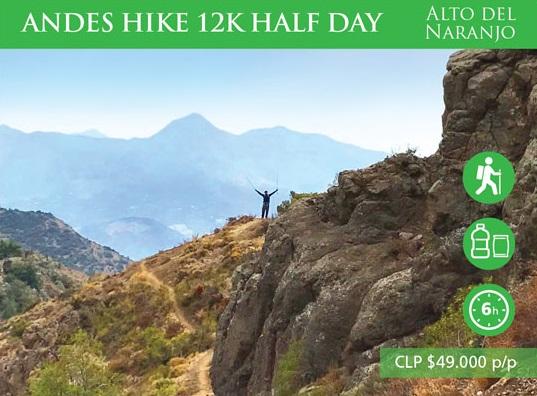 Andes Hike 12K- Alto del Naranjo