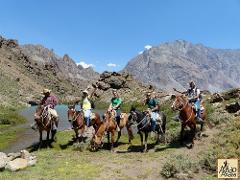 Horseback through Cajon del Maipo (OCT 2016) private