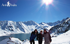 ANDES DAY LAGOON-  Embalse el Yeso