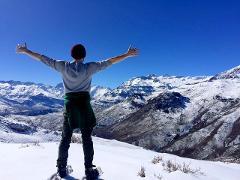 SNOW HIKE 6K- Raquetas de nieve/Snowshoeing in Cajón del Maipo from Santiago