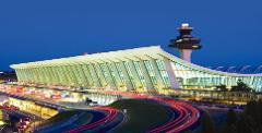 Dulles Airport (IAD) Drop off (Sedan...3 people or less)
