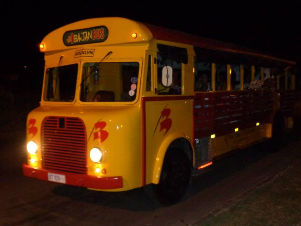Bajan Open Bus - The Pub Hop Tour