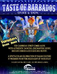Taste of Barbados Dinner and Show at Barbados Beach Club