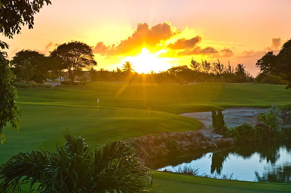 Barbados Golf Club - Twilight after 3:00PM