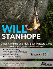 Crack technique with Will Stanhope - Squamish