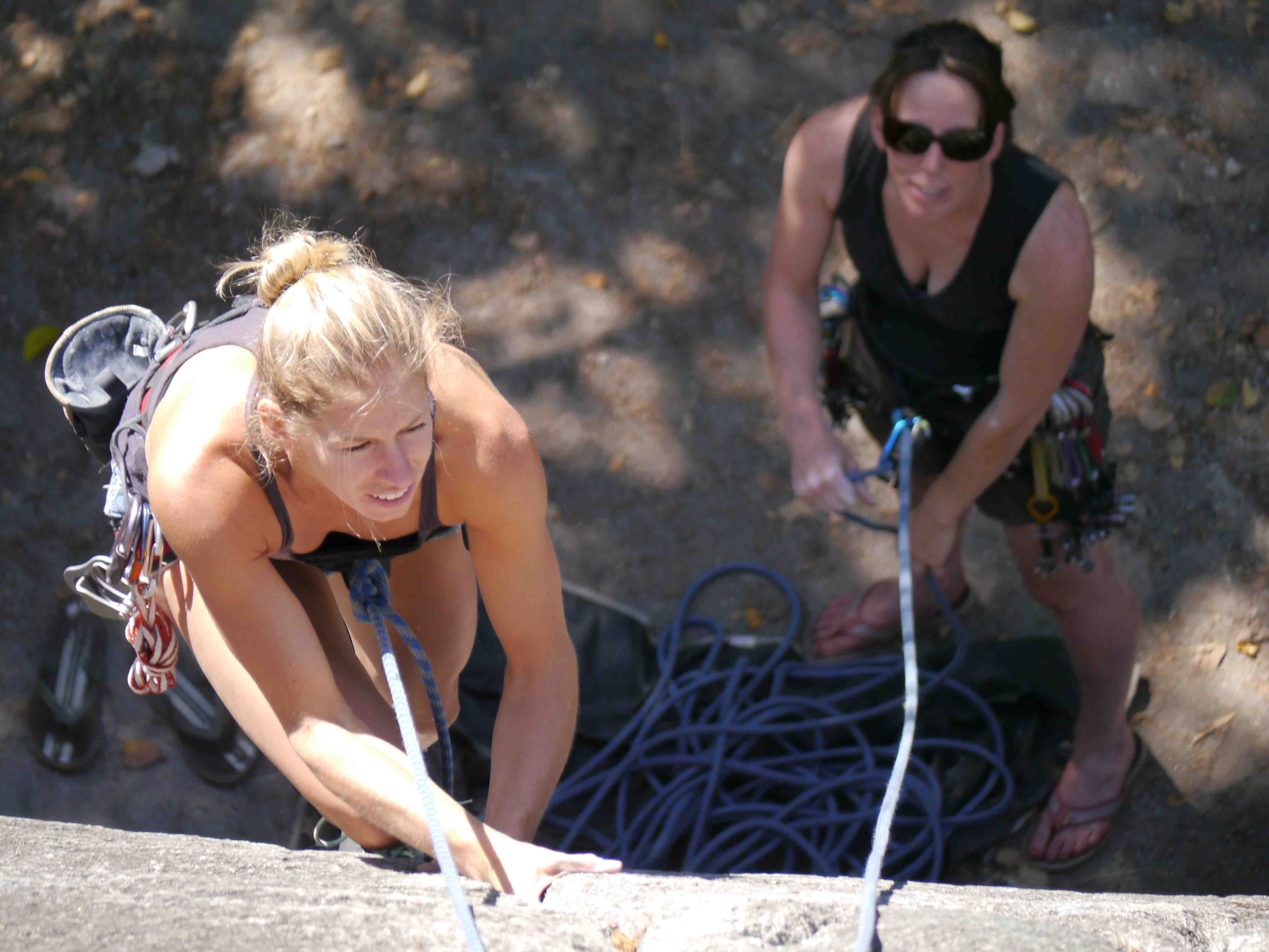Half Day - Guided Rock Climbing or Instruction