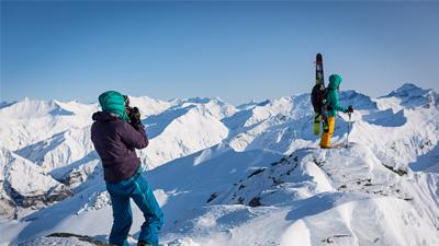 Backcountry ski photography - Winterstoke