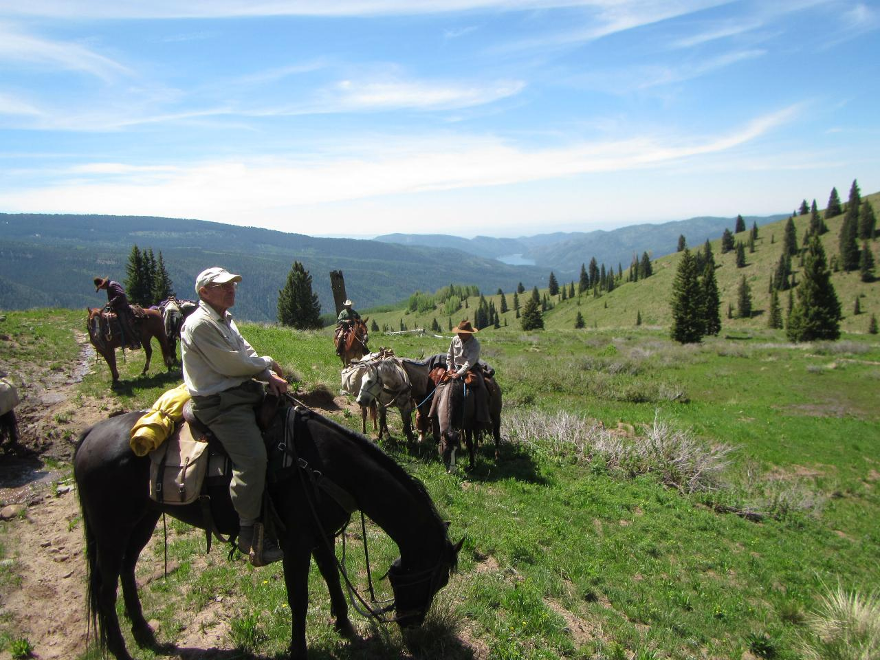 Day Ride in the Weminuche Wilderness: Missionary Ridge