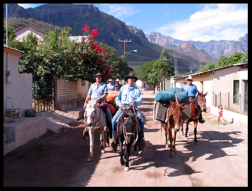 Horse Packing in Mexico's Copper Canyon