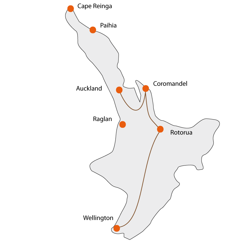 North Island Experience Tour - December