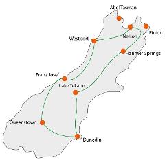 South Island Adventure & Wildlife Tour