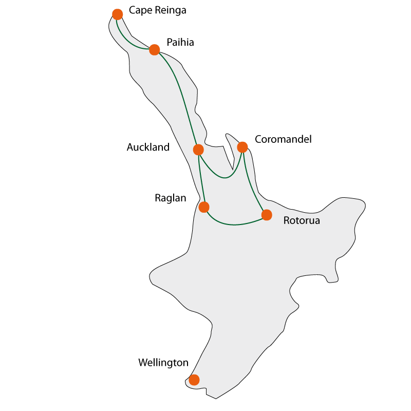 North Island Explorer Tour 2018
