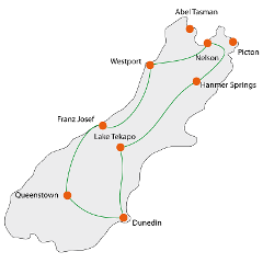 South Island Experience Tour Sept/Oct