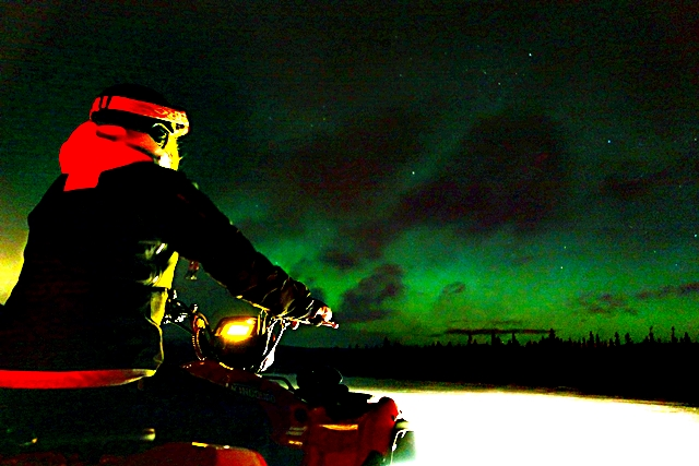 Snow Quad Night Ride Adventure