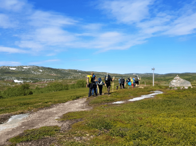 "Introduction course to ""Fjällvandring"""