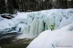 Ice Waterfall Adventure