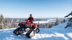 "Snow Quad Safari with ""fika"""