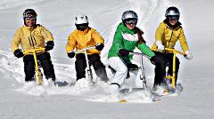 Snowbike Rental (full day rental including a 30 min intro course)