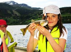 "Guided fishingtrip and ""taste your fish"""