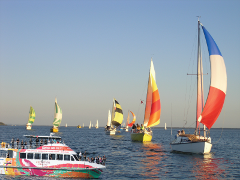 Bay-to-Bay Yacht Race Spectator