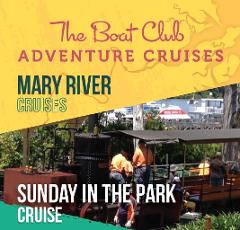 Mary River - Sunday in the Park cruise