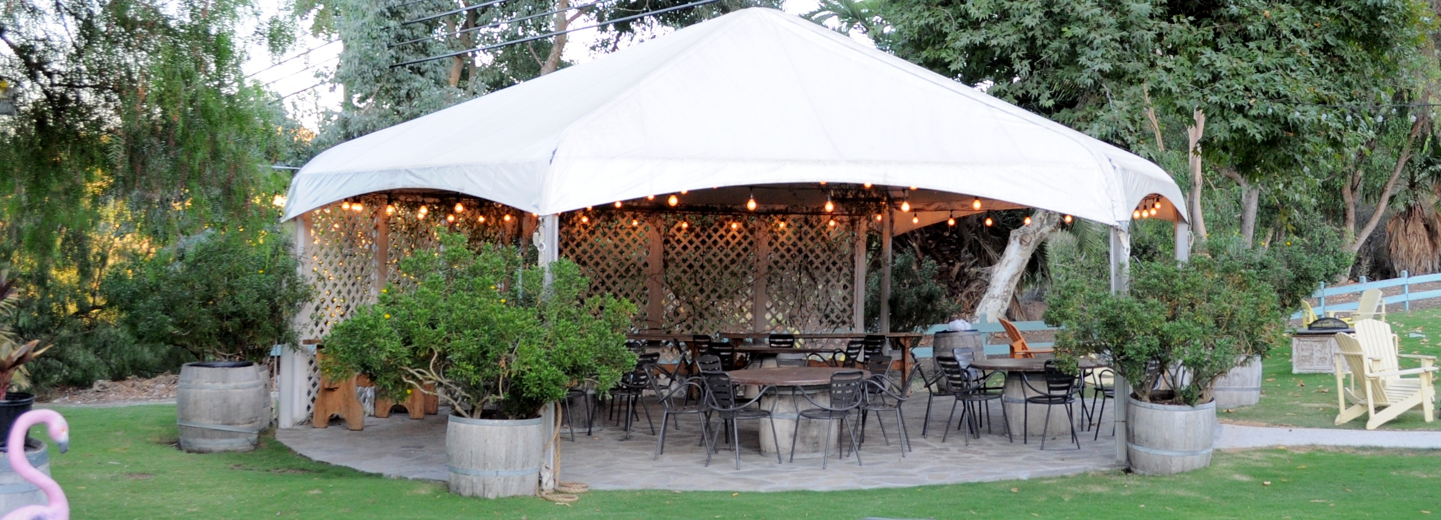 Gazebo - up to 35 guests