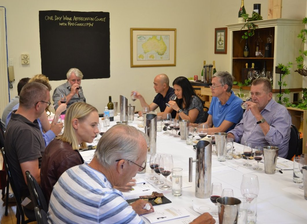 One Day Wine Appreciation Course with Rob Geddes MW (10am - 4pm)