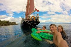 Summer Sail: 3.30pm,  Maori Rock Carvings, Taste of Taupo *(incl. pizza & drinks)