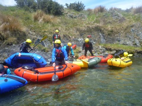 Packrafting Basic Skill & Rescue Training